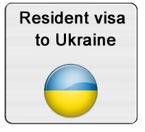 Resident visa to Ukraine
