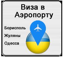 Виза в Аэропорту Украины (по прилету) Landing visa